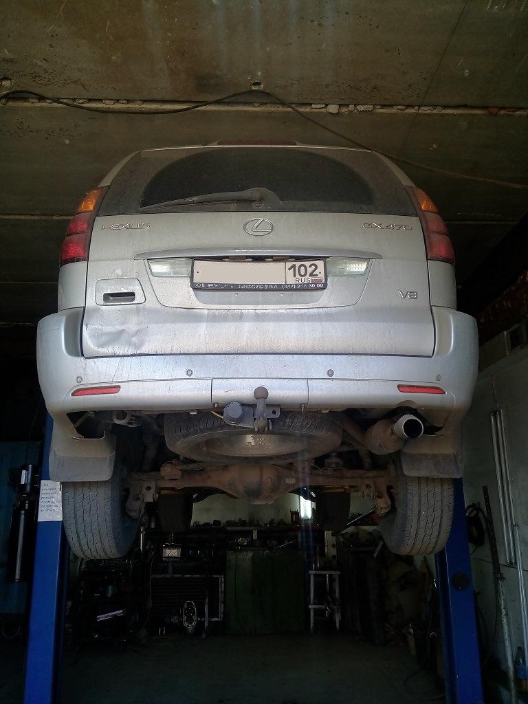 Lexus GX470 — Catalyst Removal + Chiptuning — MSG Garage on