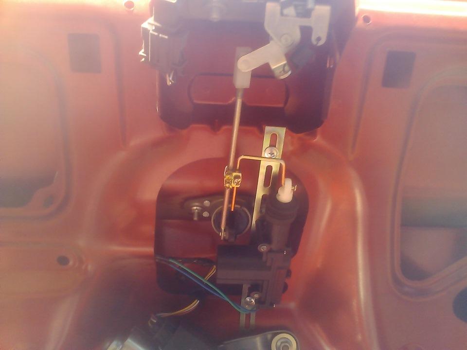 fbb841cs 960 - Электропривод замка двери калина