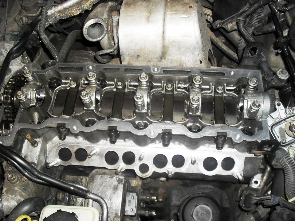 снятие форсунки дизельного двигателя опель зафира