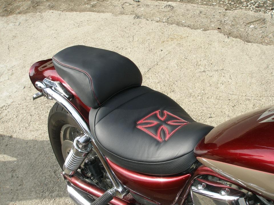 Как обтянуть сиденье скутера