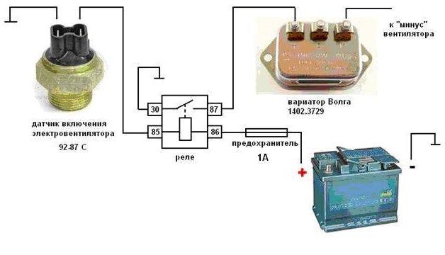 Схема включения ультраяркого светодиода