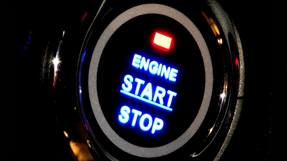 кнопка запуска двигателя ваз схема
