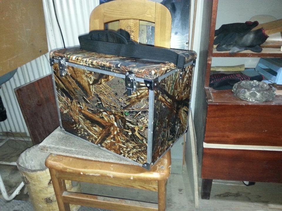 Ящик для летней рыбалки своими руками фото 619