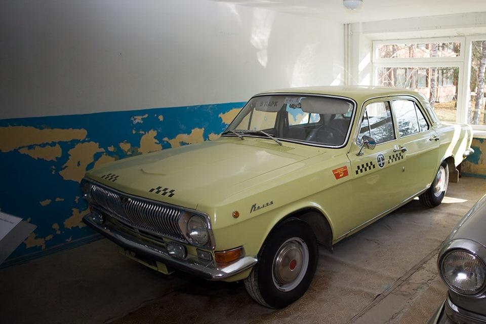 фото советский такси получил