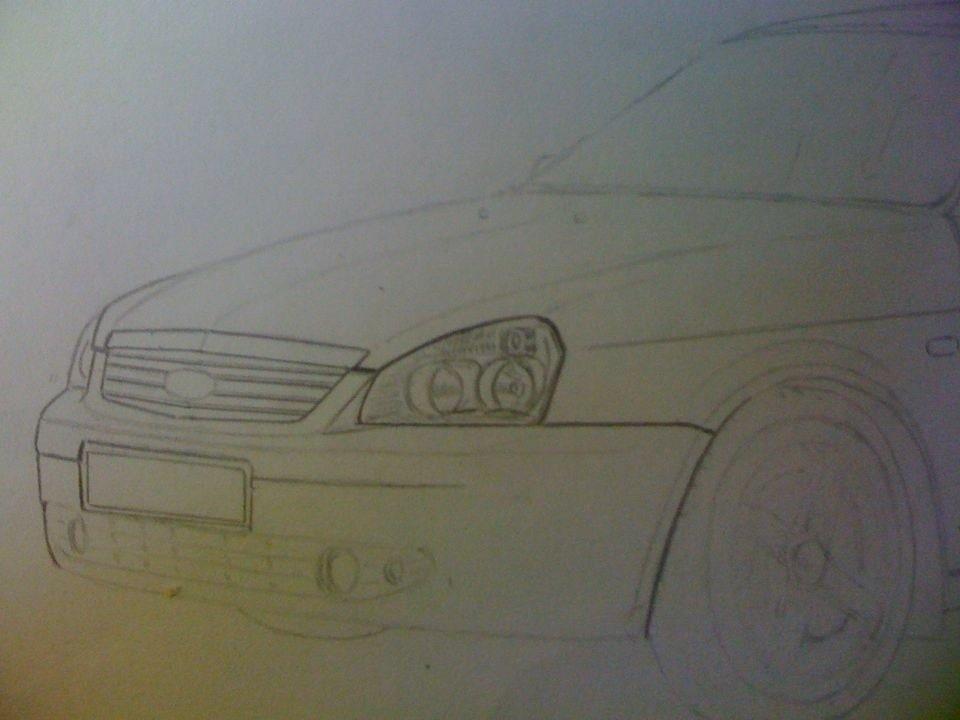 рисунки приора карандашом: