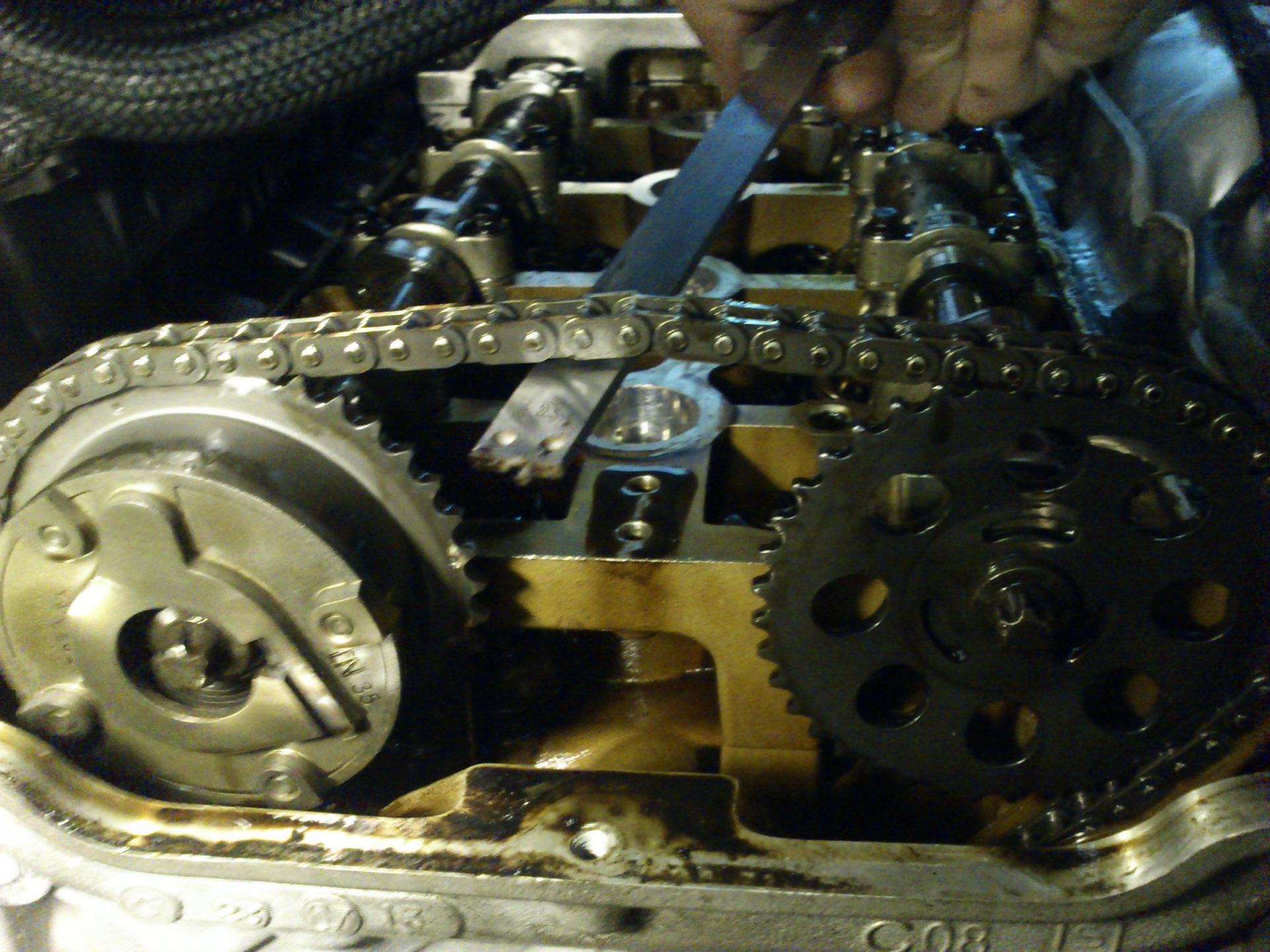 ошибка двигателя на холодную ситроен с5