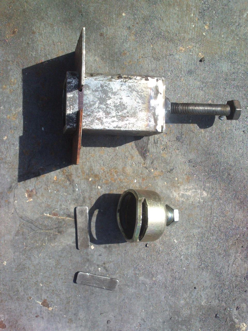Съемник переднего ступичного подшипника ваз 2110 своими руками