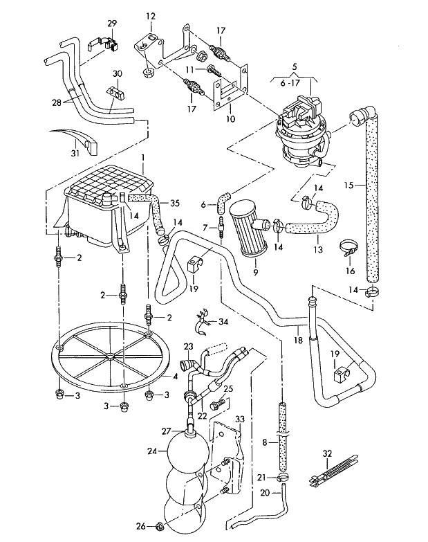 evap  absorber  valve n80  u2014 removal   u2014 logbook audi a4