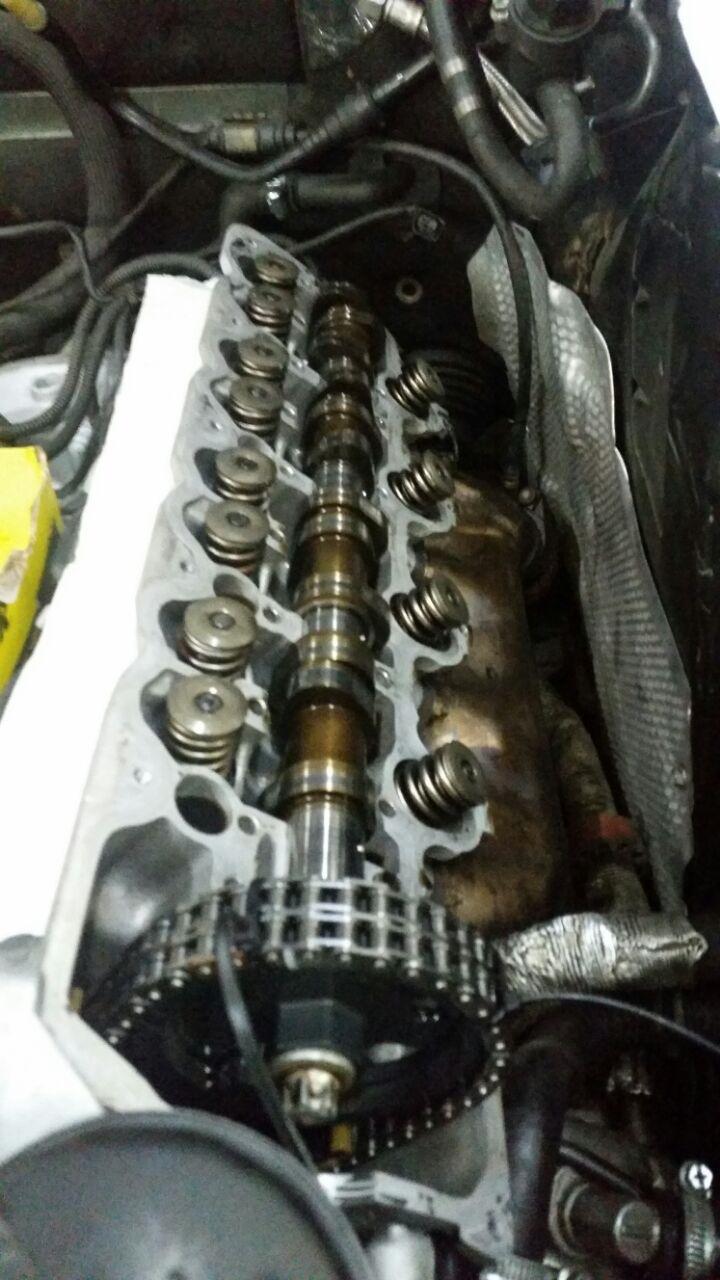 после замены стучат компенсаторы мерседес 112 мотор