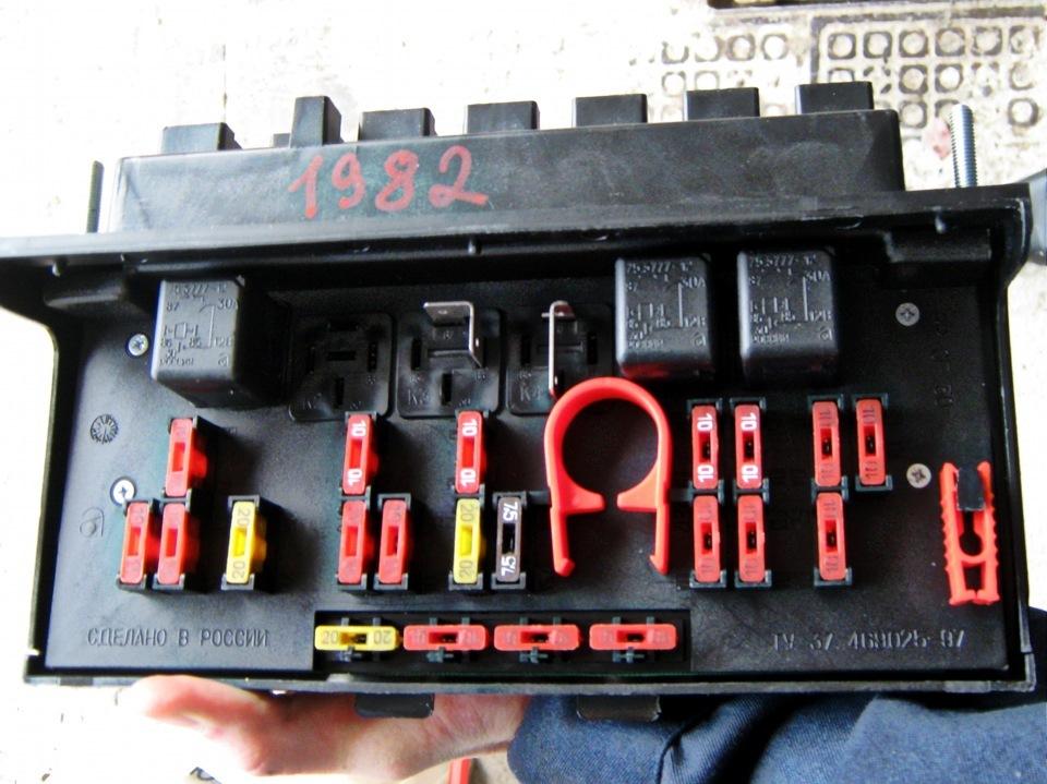 монтажный блок ваз 2107 инжектор цена