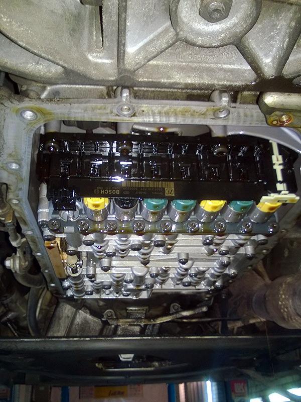 как проверить уровень масла акпп BMW e46