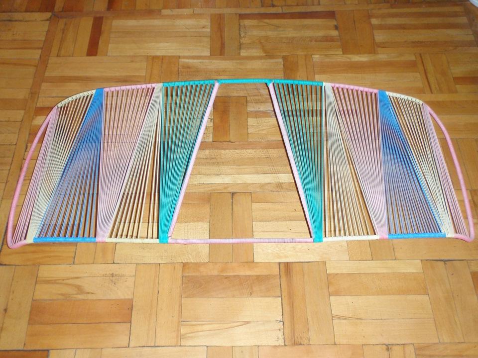 Плетеная шторка