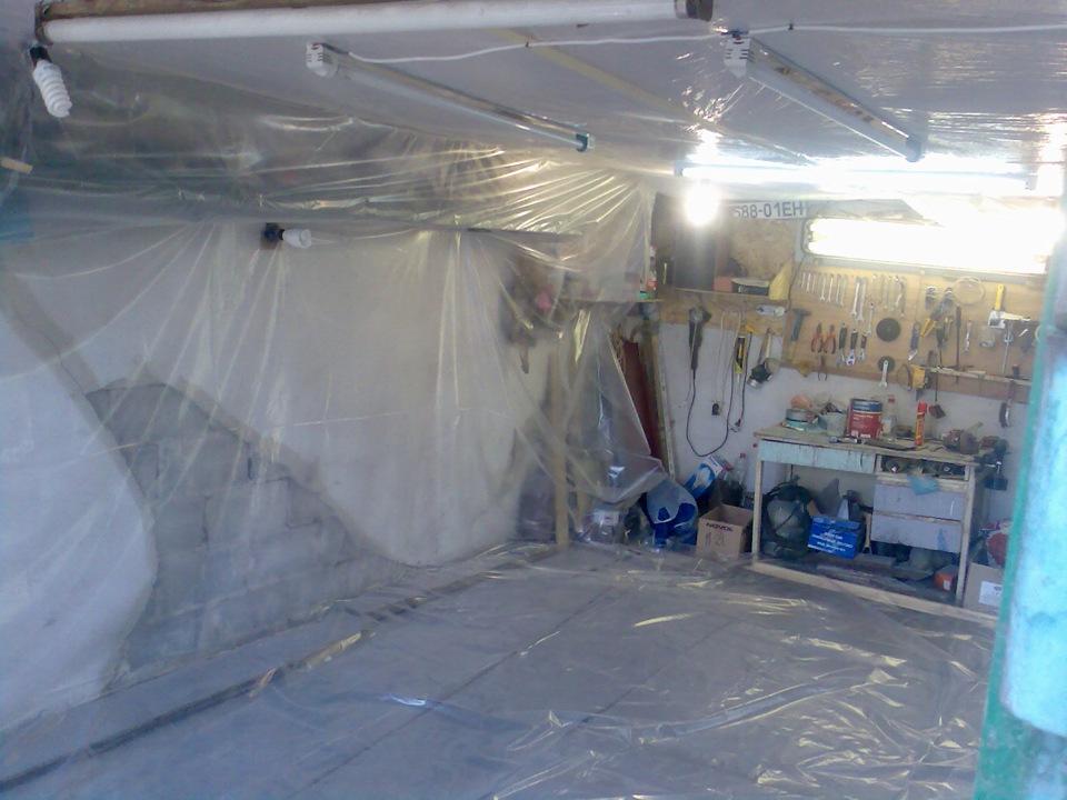 Малярка в гараж своими руками 344