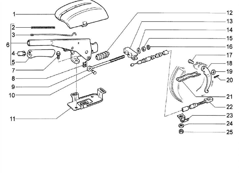 и схемы задних тормозов и