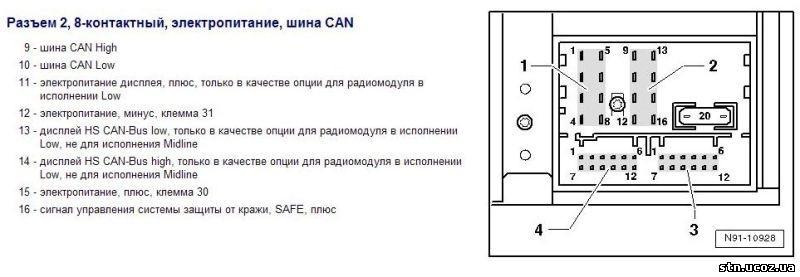 Схема магнитолы свинг