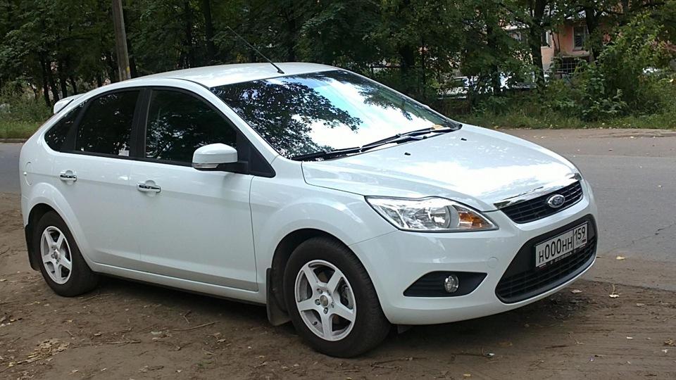 Форд фокус белый фото
