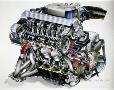 двигателей BMW М42