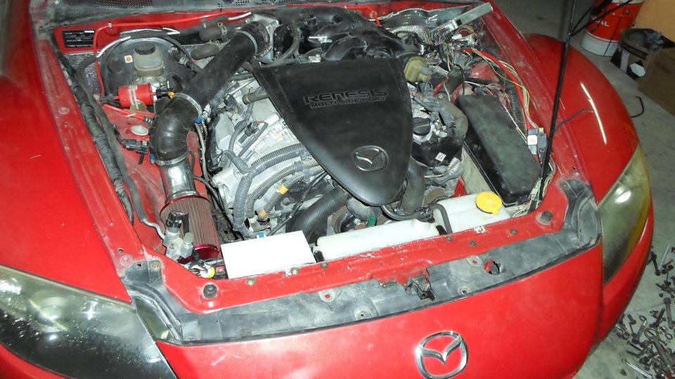 Mazda RX-8 swap 4grfse V6 продана | DRIVE2