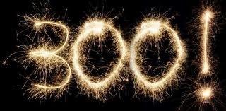 Круглая цифра. 300 подписчиков.))