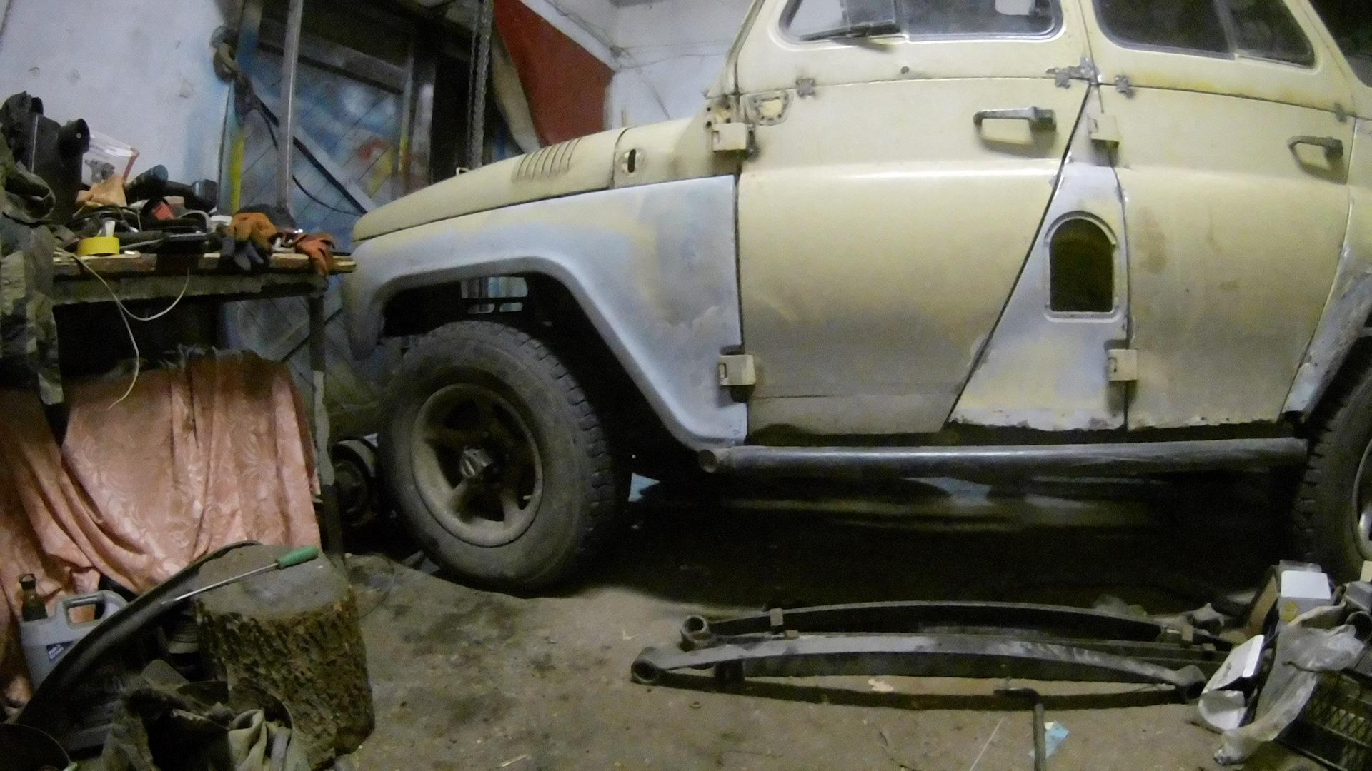 Жопастыми кузовной ремонт уаз моховой нижний