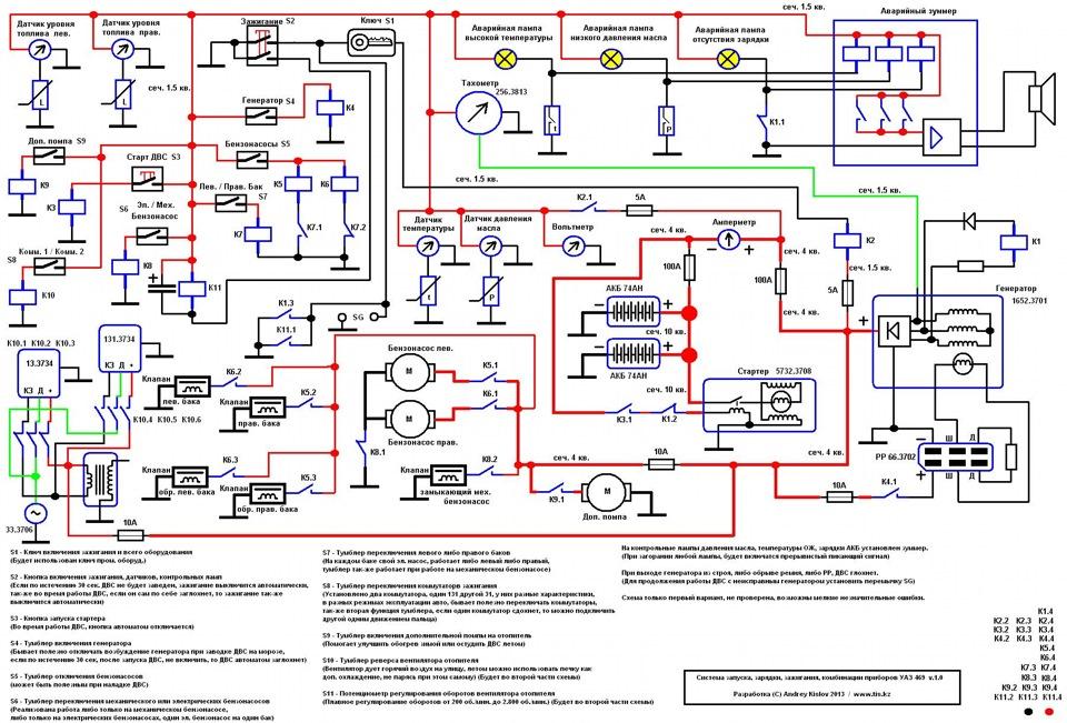 Электрика — Схема