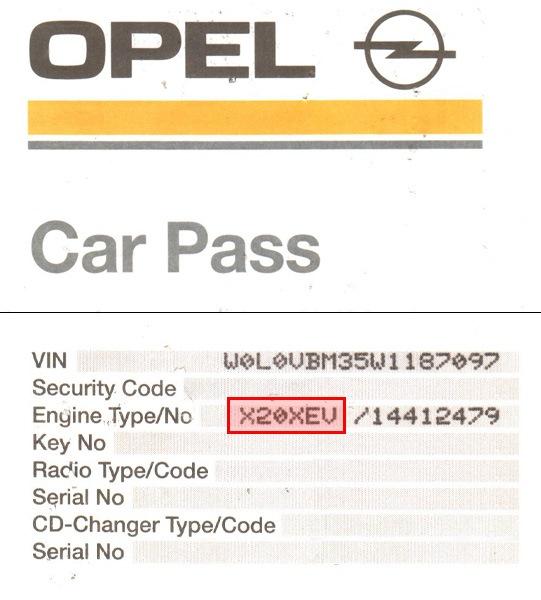 car pass opel download