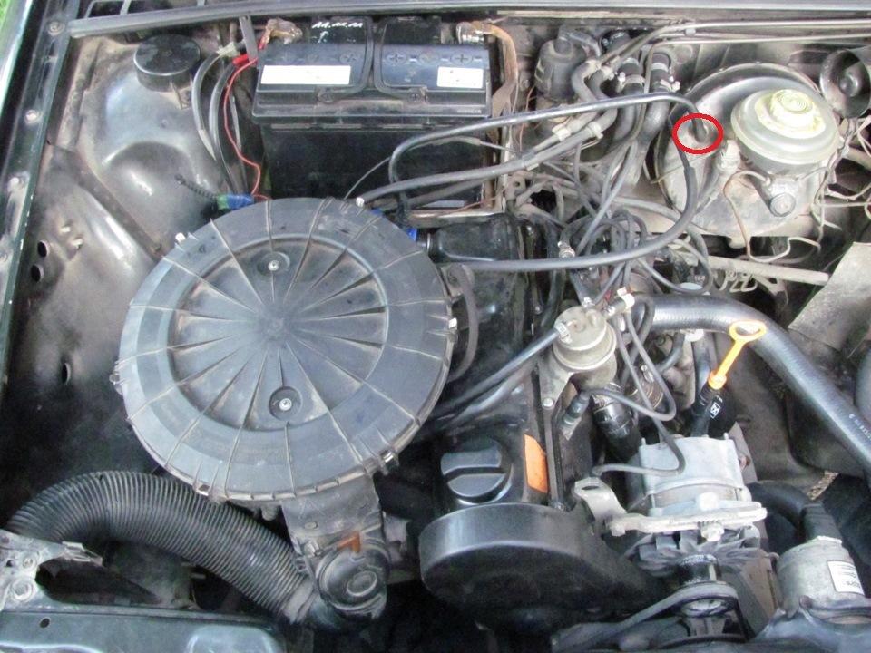 audi 80 глохнет двигатель при торможении: