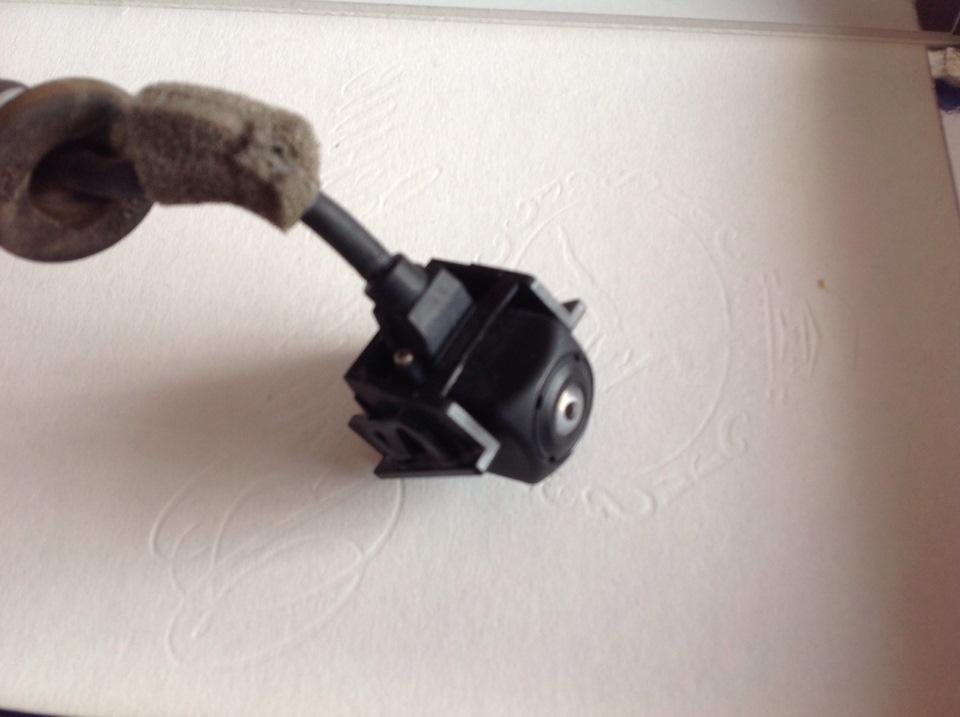 Установка камеры заднего вида на мазда сх 5 своими руками