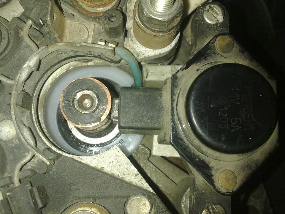 Фото №22 - замена токосъемных колец генератора ВАЗ 2110