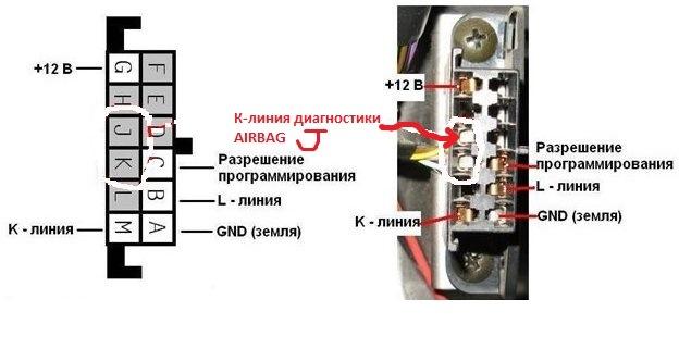 Переходник OBD2 16pin GM12