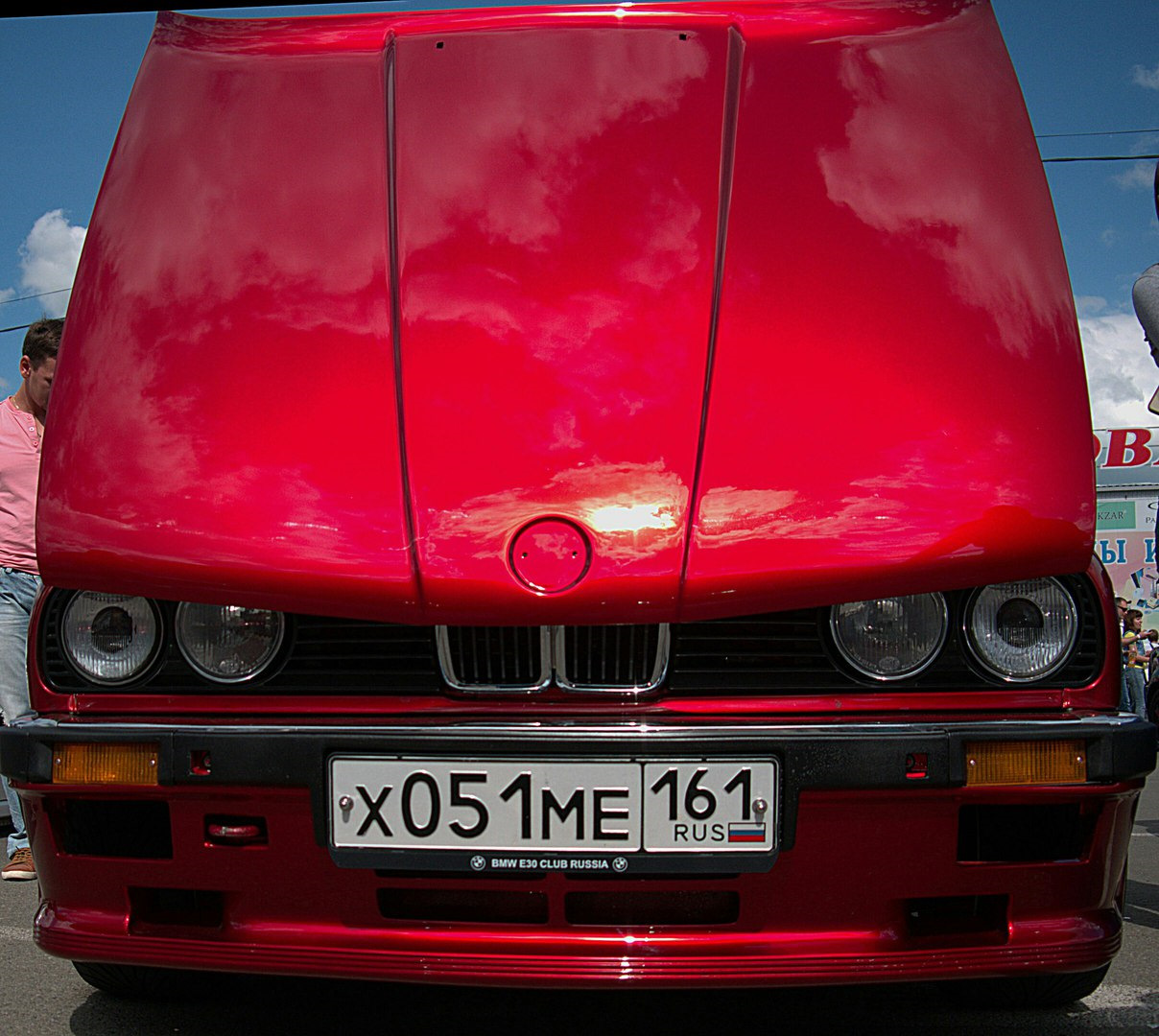 Bmw E30 V Candy Apple Red Drive2