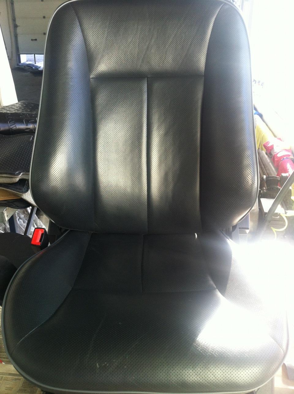 Реставрация кожаных сидений автомобиля своими руками 9