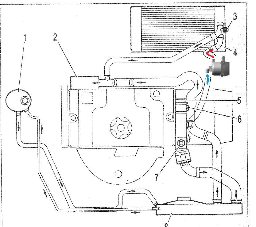 Инструкция по монтажу электроподогревателя