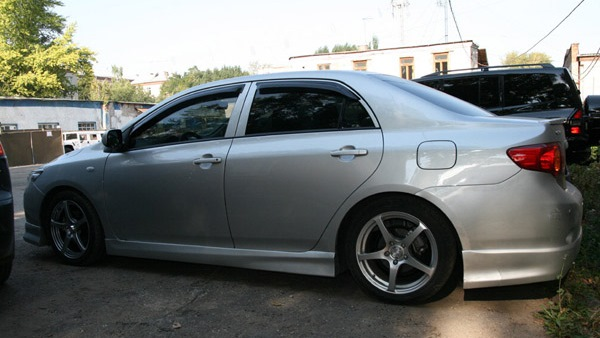 Размеры колес и дисков на Toyota Corolla Все