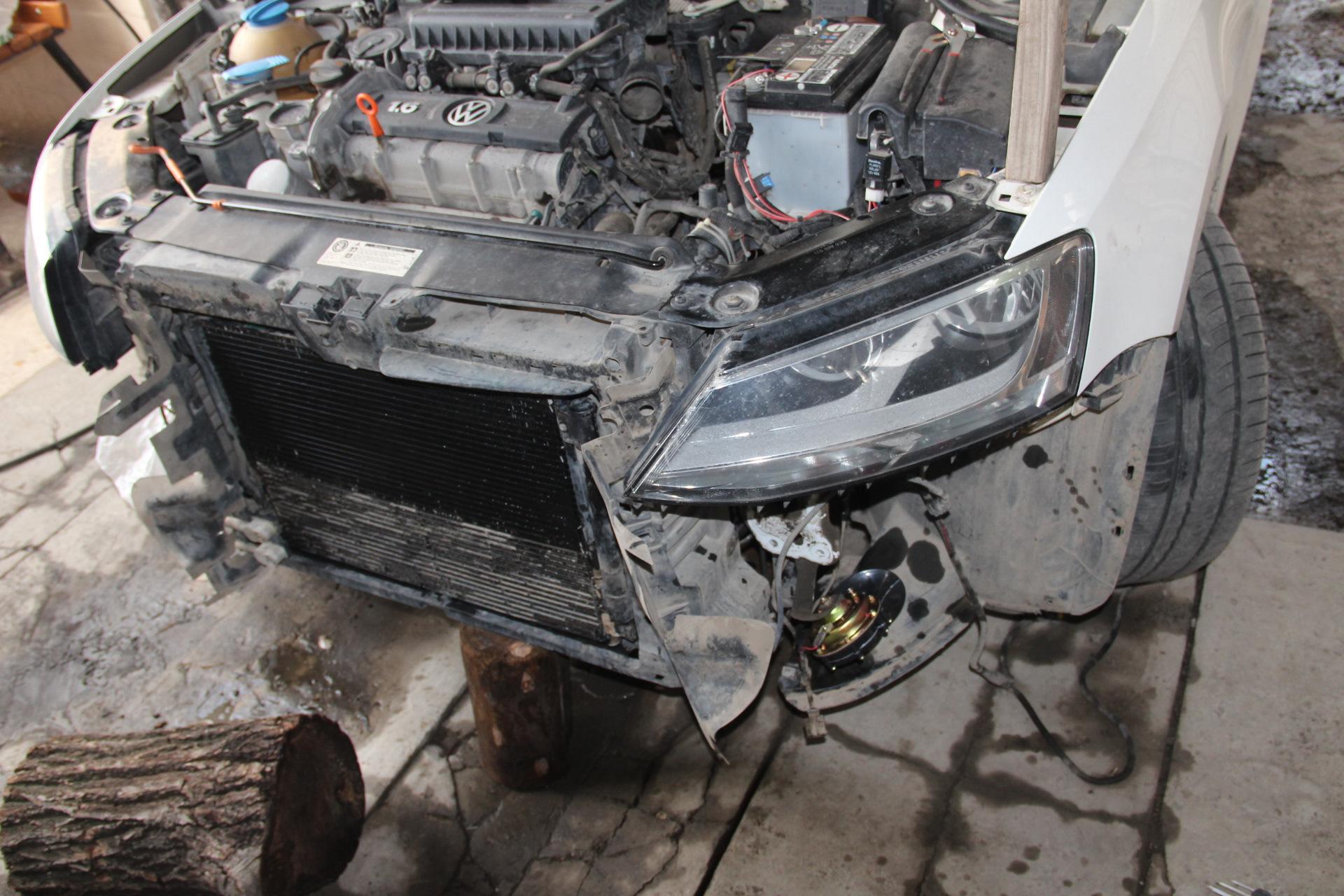 Замена радиатора джетта 6 Замена троса газа evoque