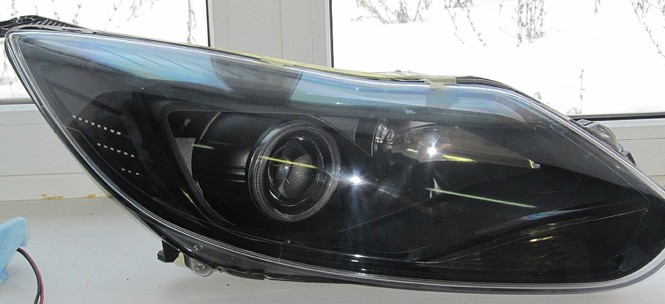 ford focus 3 линзованные фары