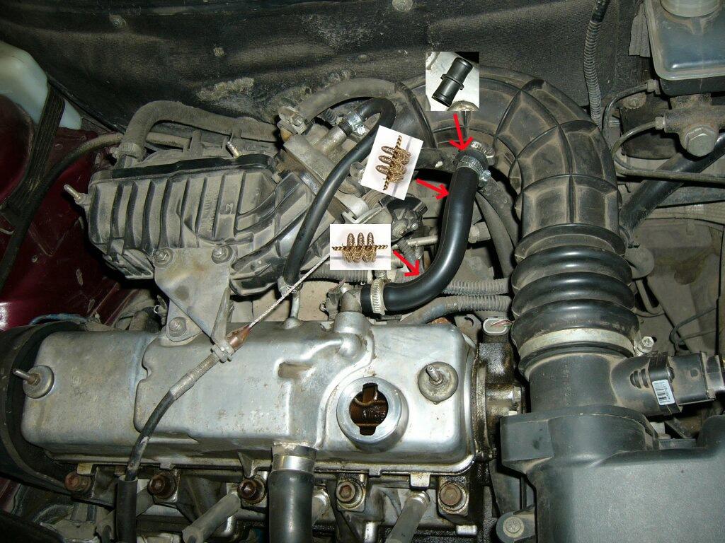 Фото №17 - масло в воздушном фильтре ВАЗ 2110 16 клапанов