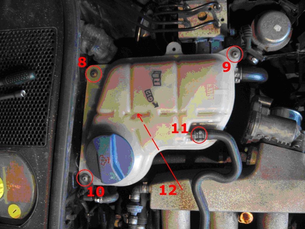 audi a4 b5 не работают датчики температуры воздуха