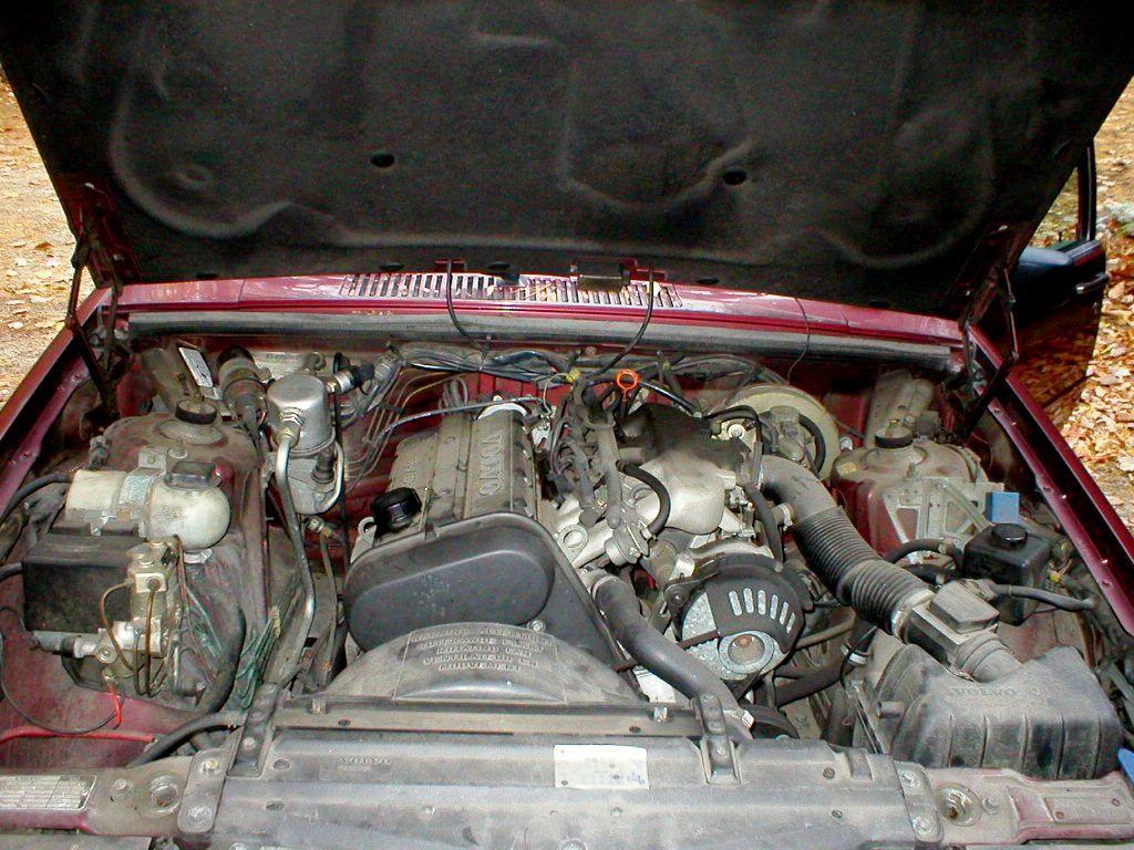 конструкция двигателя вольво 2.3 740
