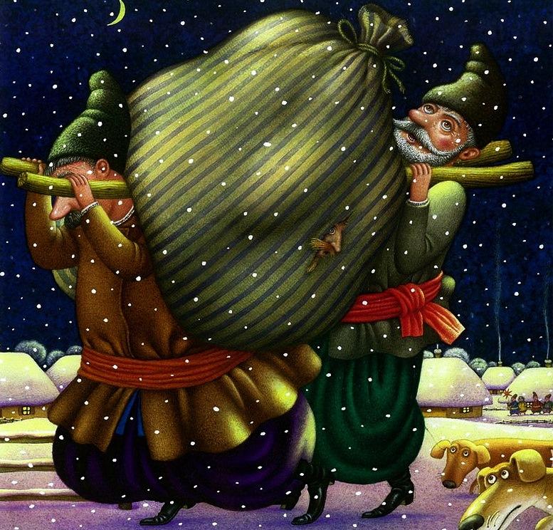 Картинки по гоголю ночь перед рождеством