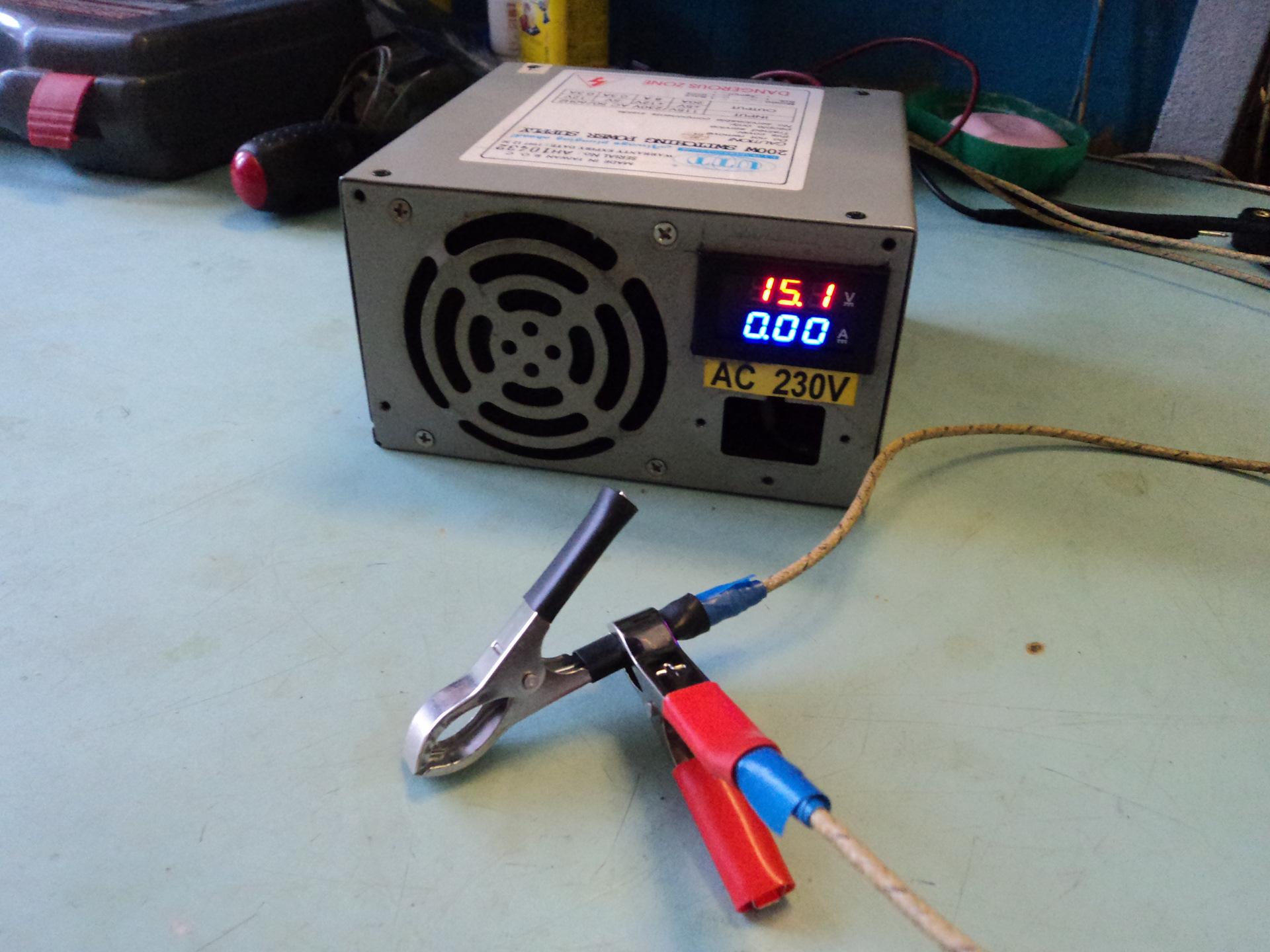 Зарядное устройство из блока питания для своими руками