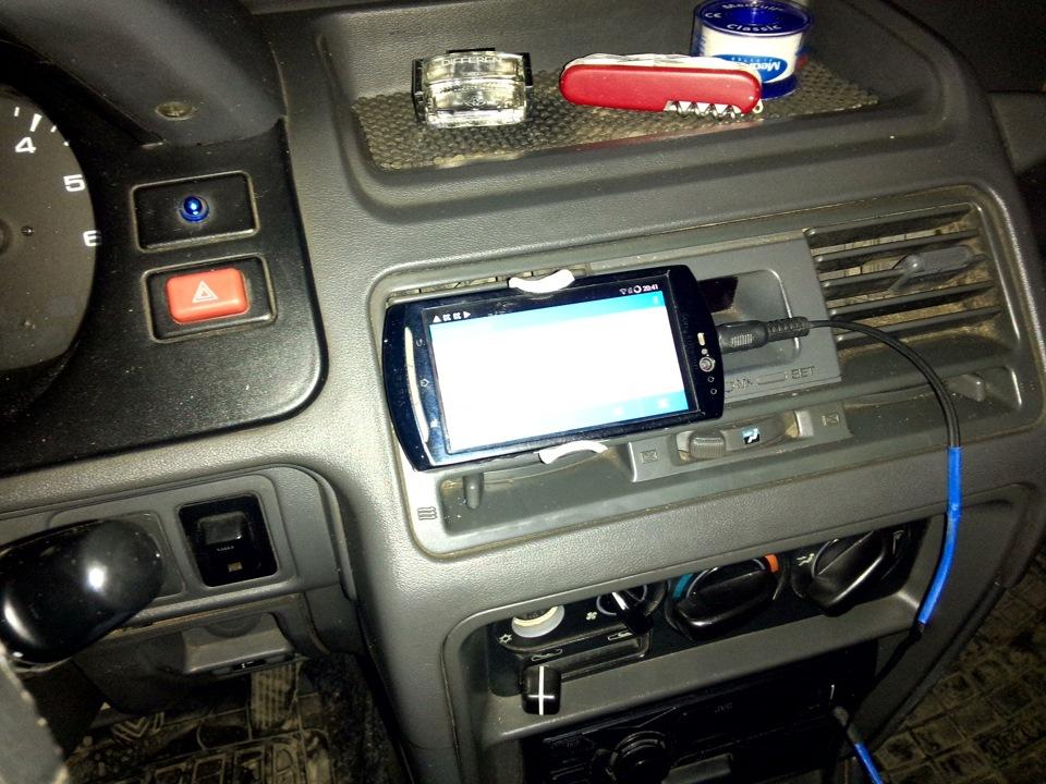 Как сделать держатель телефона на машину 914