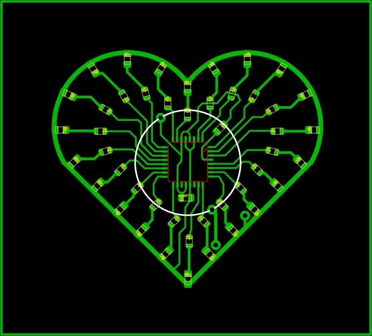 Сердце электронное своими руками