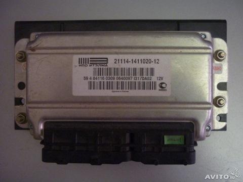 Блок управления двигателя ваз 2115