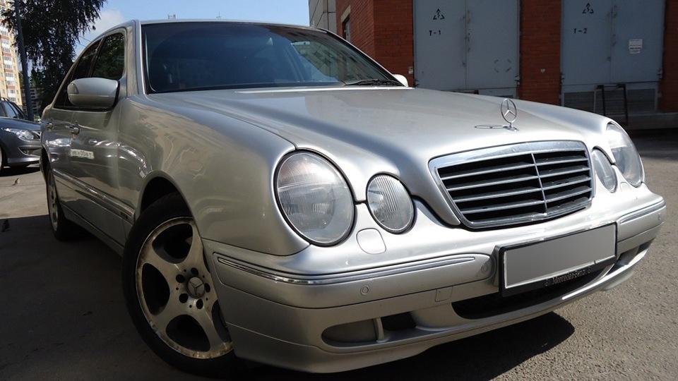Mercedes benz e class w210 drive2 for Mercedes benz usa accessories