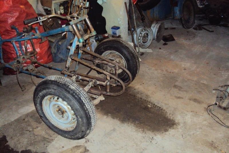 Строим квадроцикл из урала своими руками