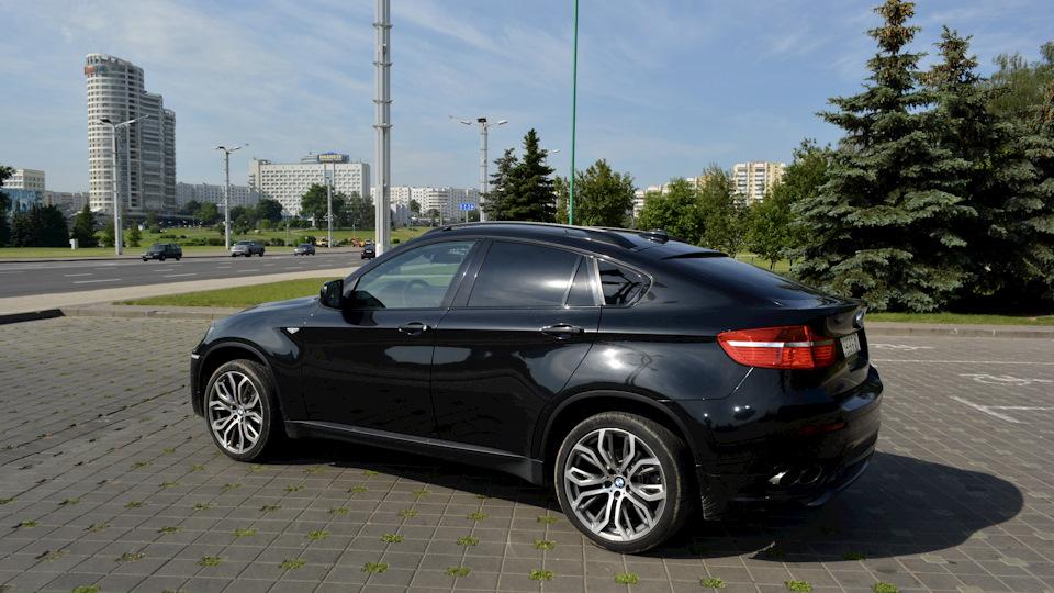 Bmw X6 40d Black Line Drive2