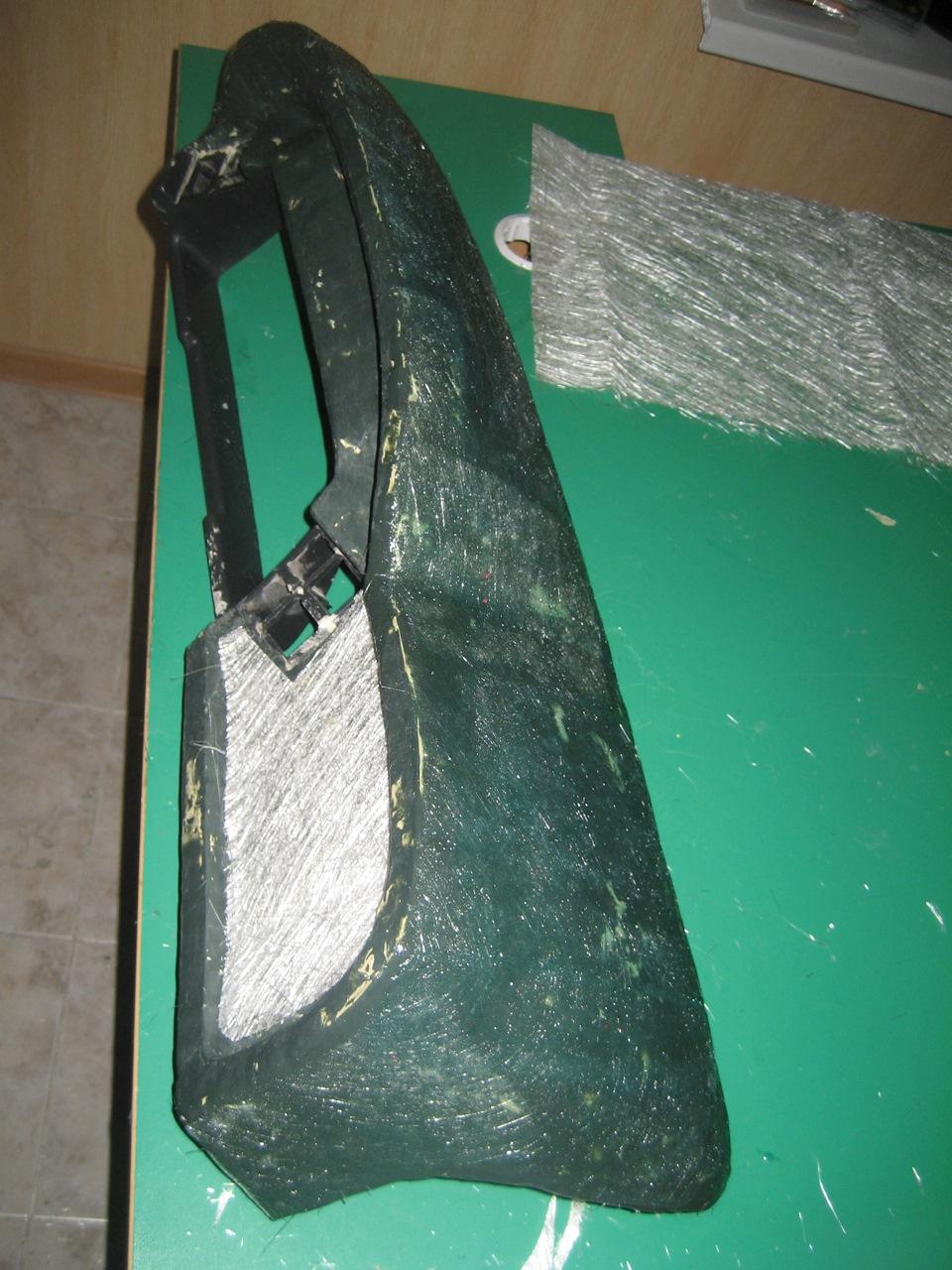 Как в домашних условиях сделать стеклопластик своими руками и детали из