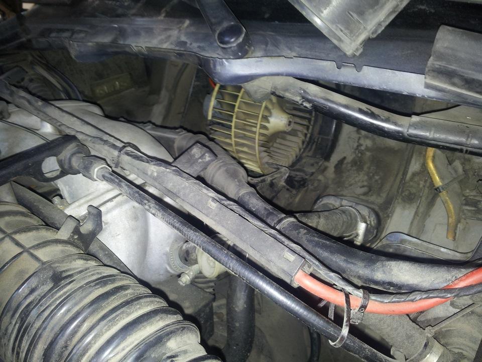 как заглушить печку на BMW e36