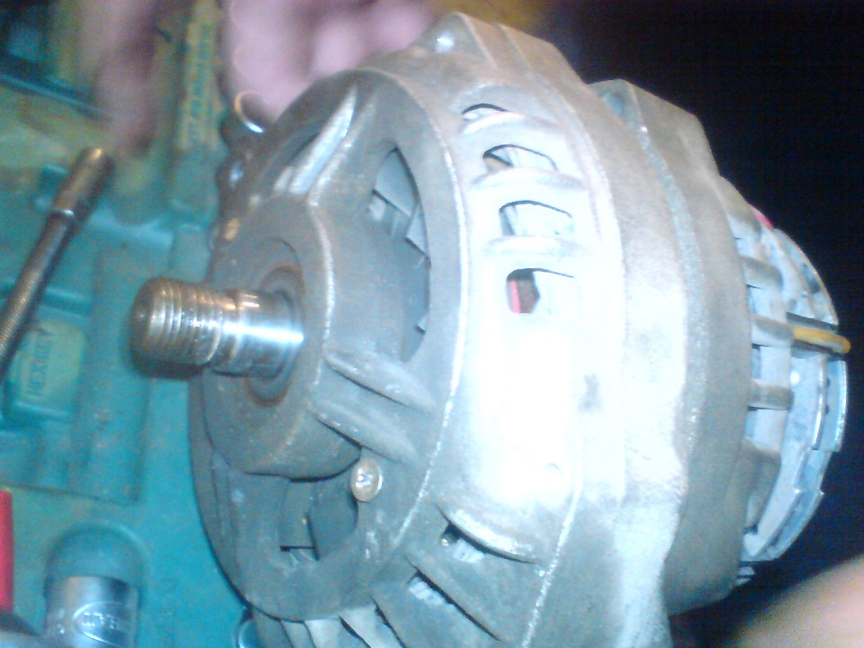 Замена подшипников генератора ваз 21099
